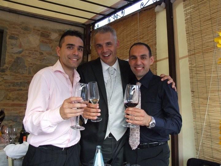 Un bel trio il Cap-Big e l' Indiano - Giugno 2010