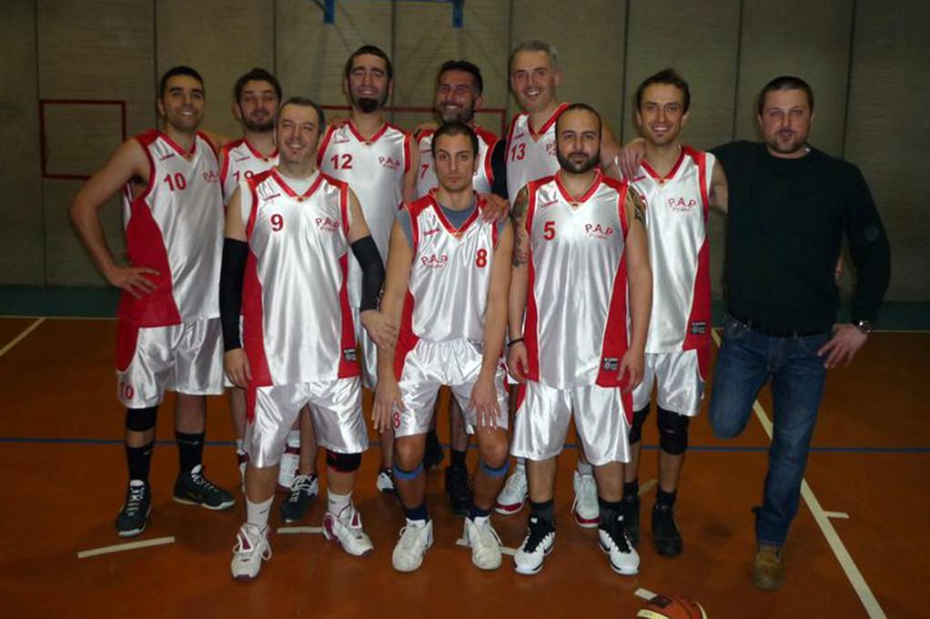 I Papponi dopo l' ultima partita di campionato 2010-2011 in casa...che vittoria!!!!! - Marzo 2011
