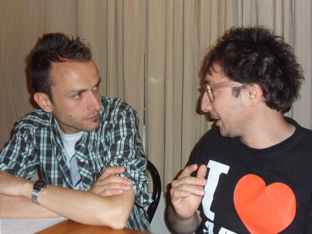 Una discussione molto interessante tra il Betto e Francino!!!!! - Giugno 2012