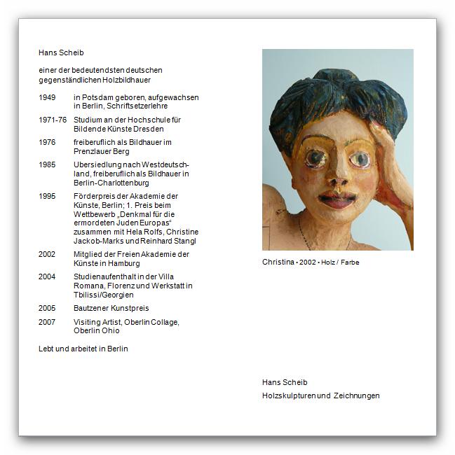 Hans Scheib vom 17. Juni 2012 bis 12. September 2012