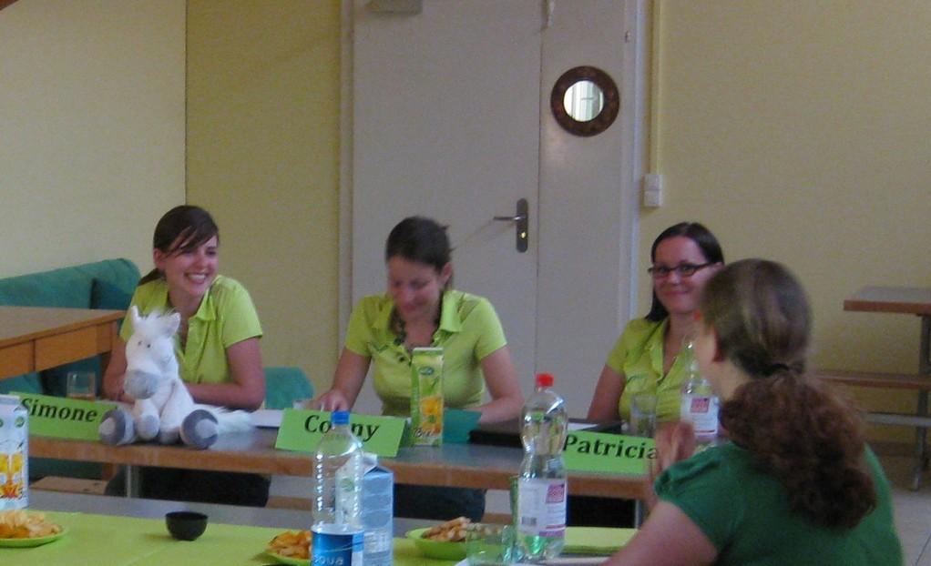 Da die Versammlung in persönlichem Rahmen stattfand, wurde auch jedes Mitglied mit einem herzlichen Lächeln aufgenommen.