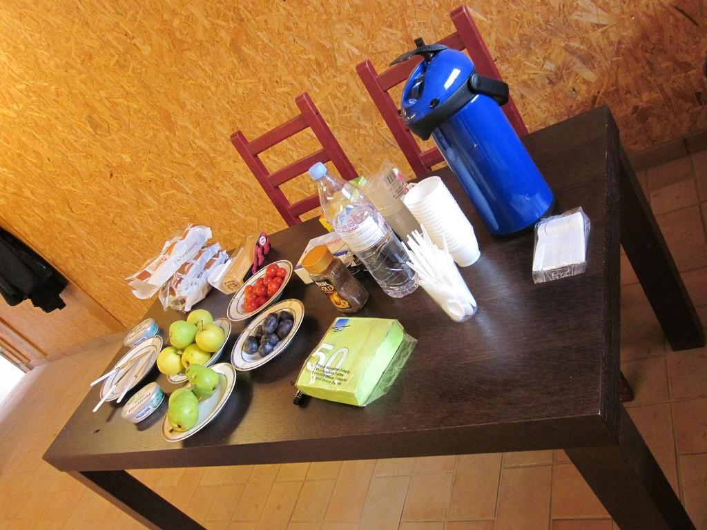 Für Nadine's Seminare traditionell eine einfache und sehr köstliche Form der Zwischenverpflegung.