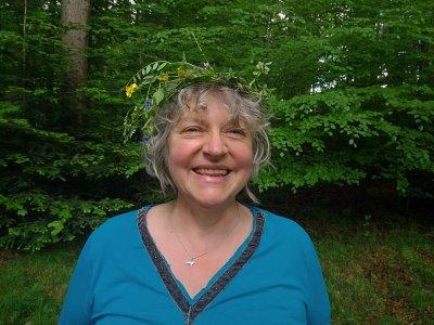 Kräuterkranz  essbare Wildpflanzen aus dem Wald