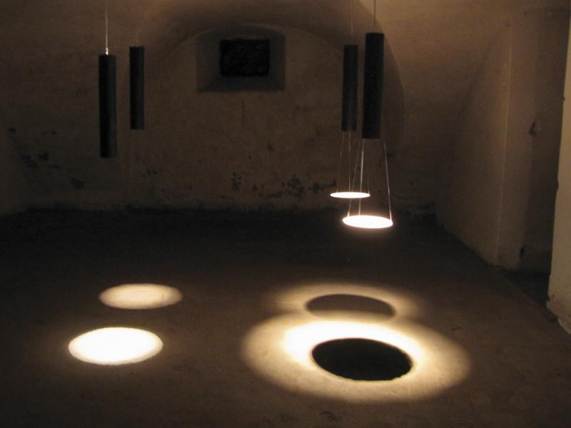 """""""Blickpunkte"""" - Lichtinstallation ELISABETH BERNAUER"""