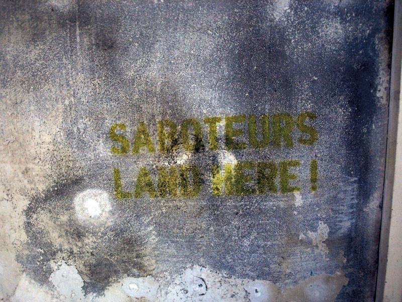 """""""Saboteurs Land Here!"""" LEO SCHATZL"""