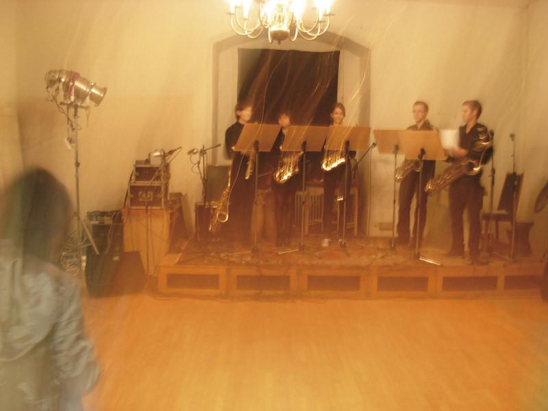 Saxophon Ensemble vom Treffpunkt Georgia