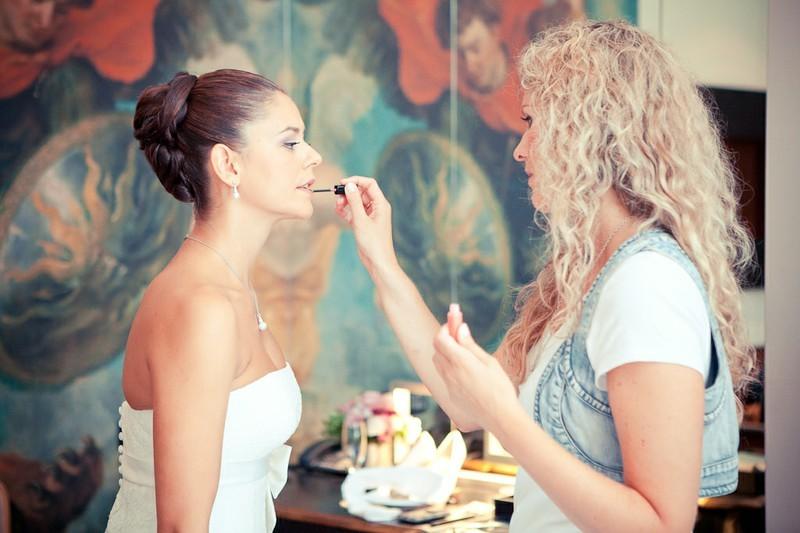 Ganz in ihrem Element - Melanie von Wandelbar Make-Up