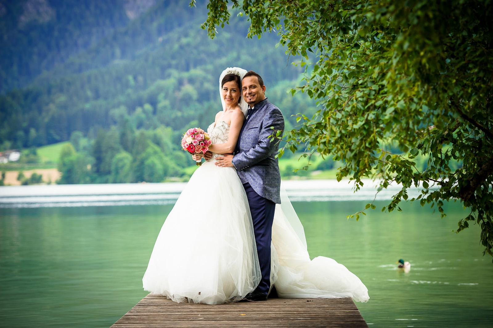 Brautpaar Shooting in Bayern