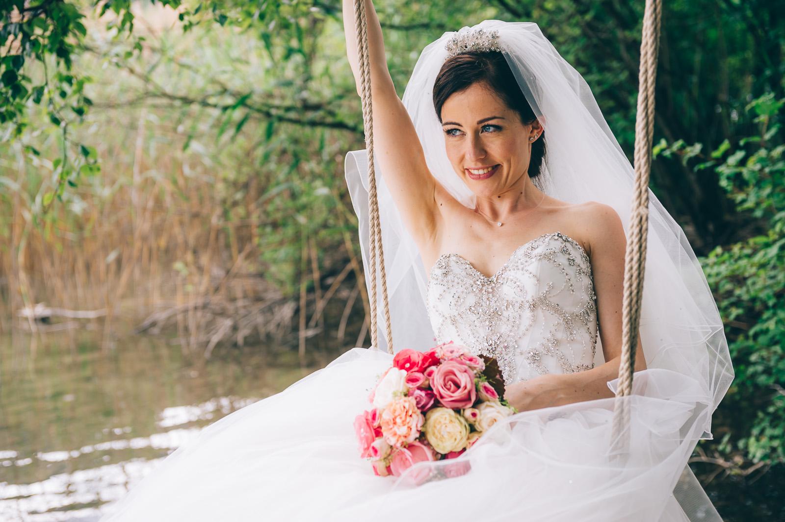 Braut Janette - Styling by Wandelbar Make-Up und Erhan Dogru
