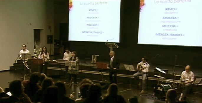 """Band aziendale """"Jingle Band"""" Davines - Reggio Emilia"""
