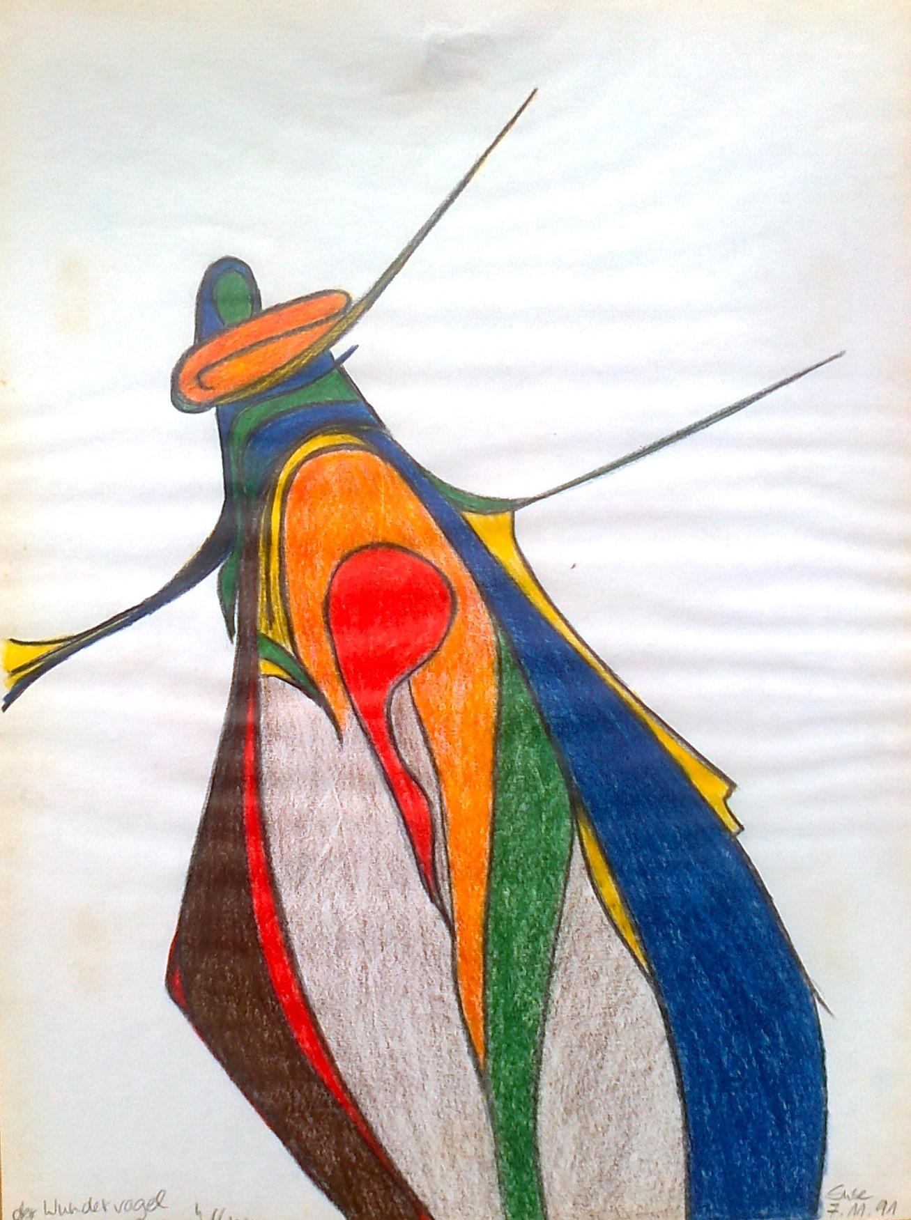 Wundervogel öffnet sich