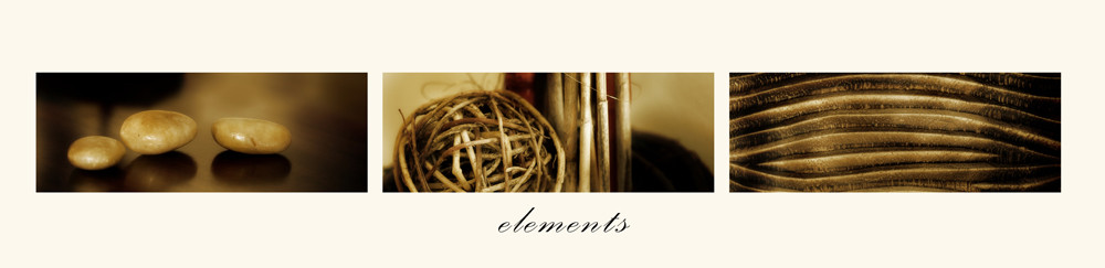 Elements, Color Fotoprint on Acrylic Glas or Canvas, Size: 411 x 100 cm