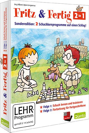 Jörg Hilbert Fritz /& Fertig Schach-Rätsel-Block