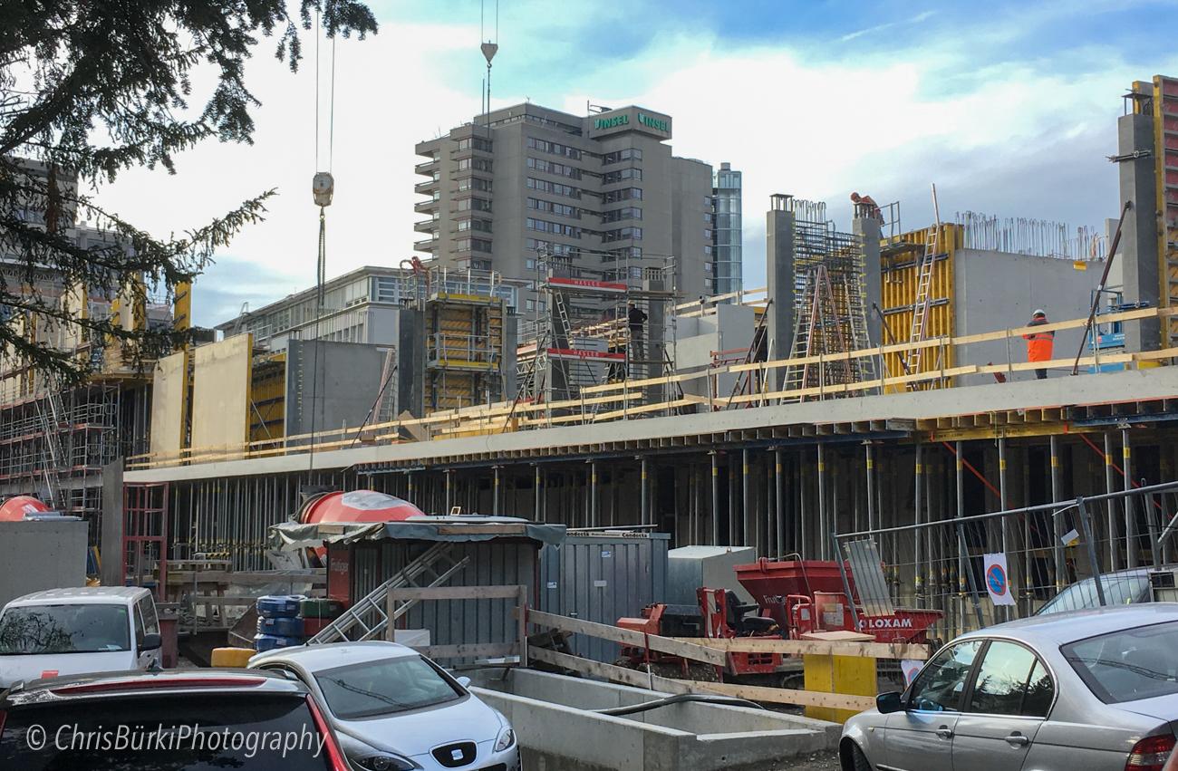 ... ebenso in der Zement- / Bauindustrie!