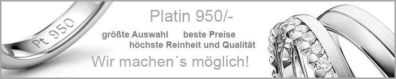 Palladium - Platin - Weißgold