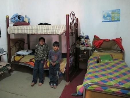 zu Besuch bei den Familien Zuhause
