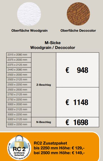 M-SICKE WOODGRAIN/DECOLOR