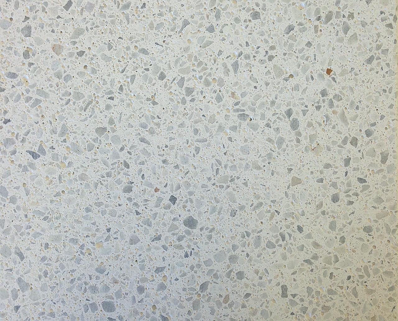 Marmor Frösti, Struktur geschliffen