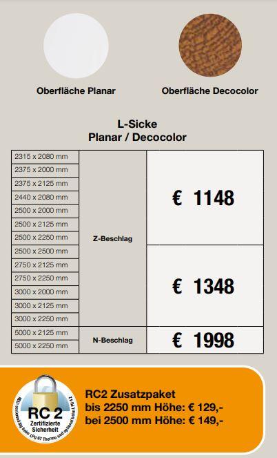 L_SICKE PLANAR/DECOLOR