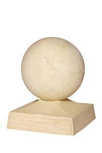 Kunststeinkugel für Pfeiler