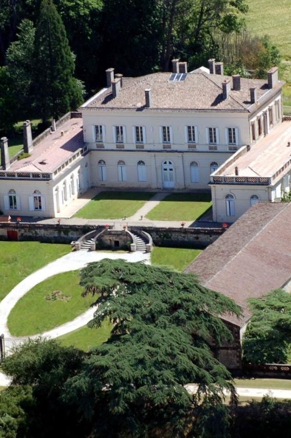 Château de Boisverdun à Tombeboeuf