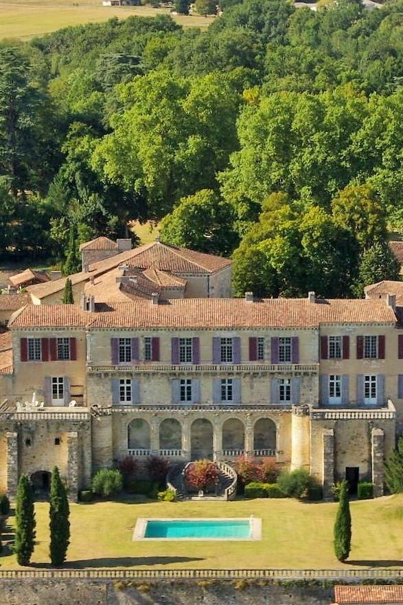 Château de Poudenas à Poudenas