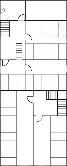 1. Stock mit Schlafräumen in Alt- & Neubau