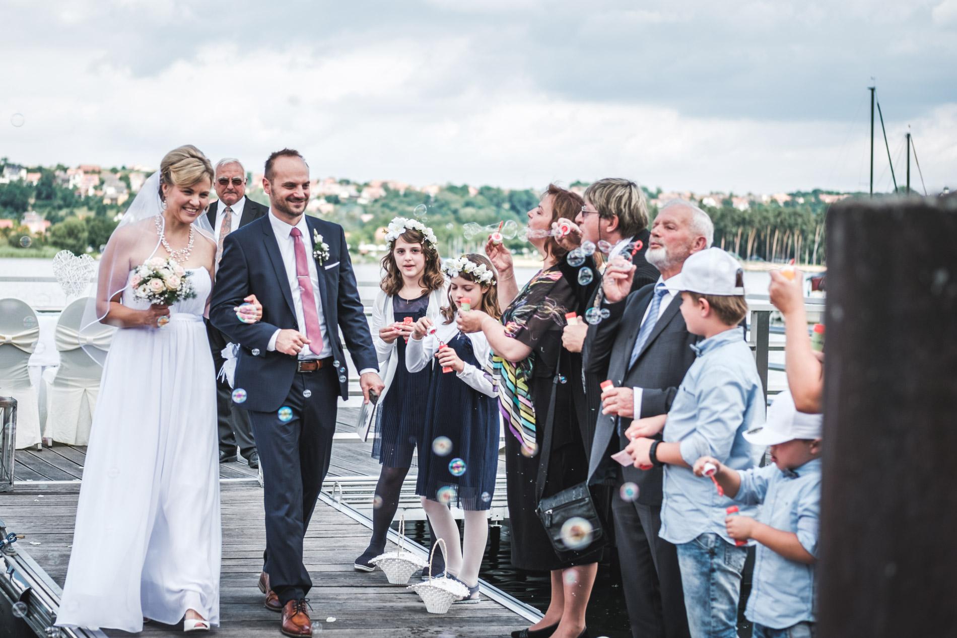 Hochzeit am großen Brombachsee