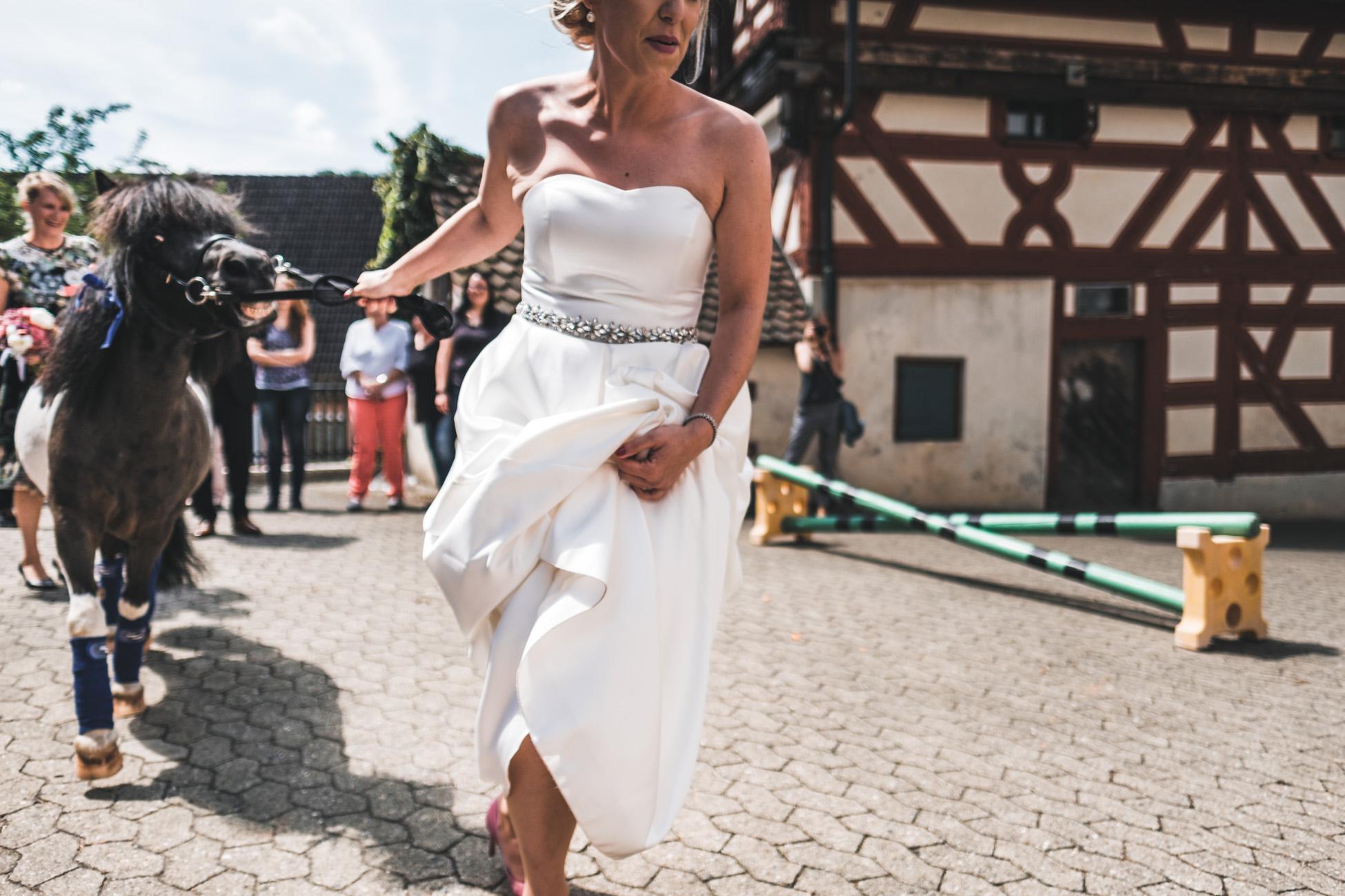 Hochzeitsfotograf Hilzhofen im Stadl