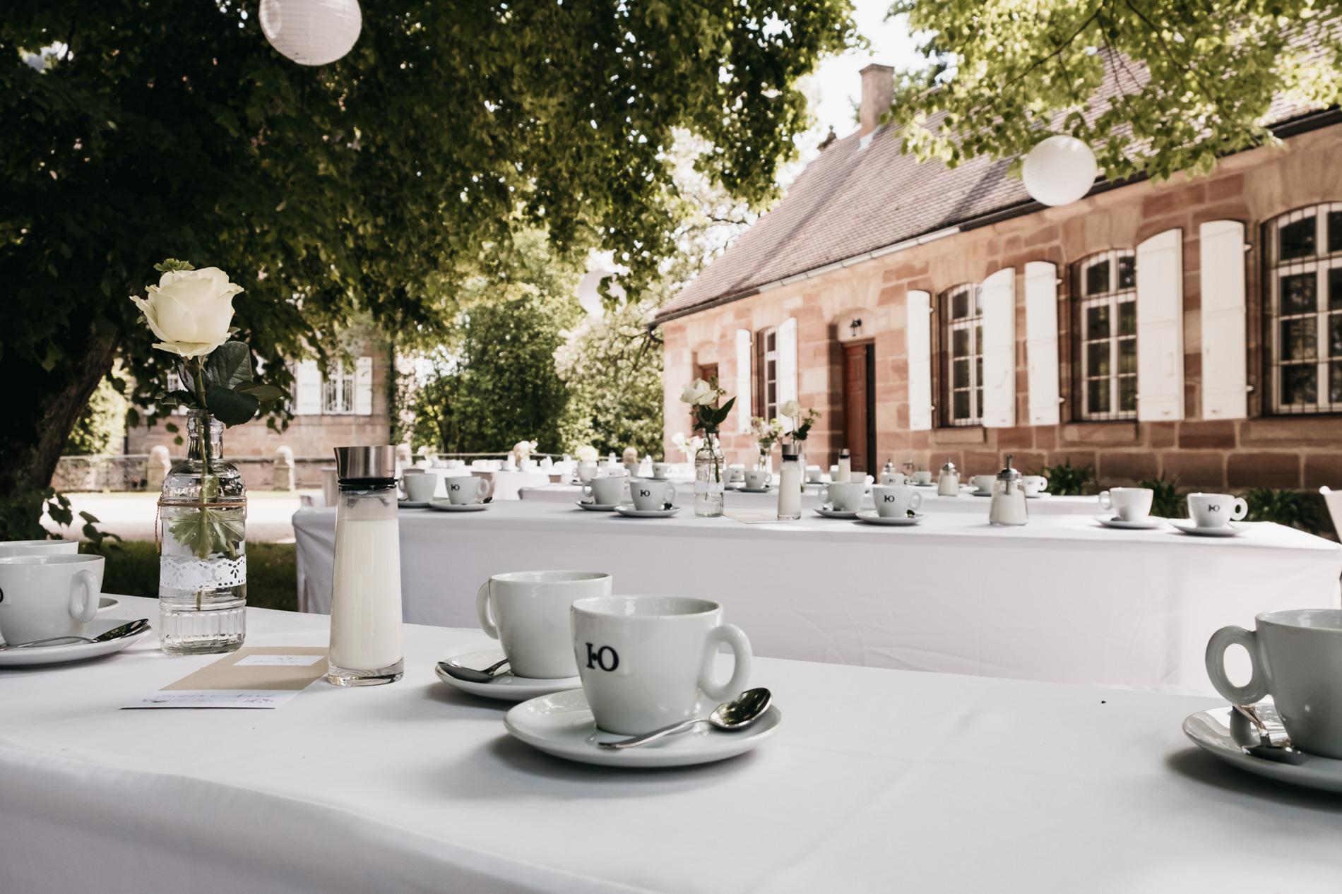 Schloss Dürrgenmungenau Hochzeit feier