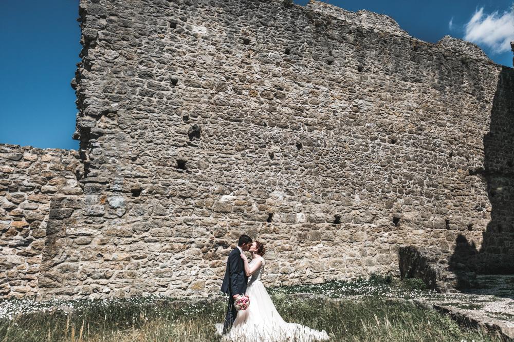 Hochzeitsfotograf-Burgruine-Wolfstein