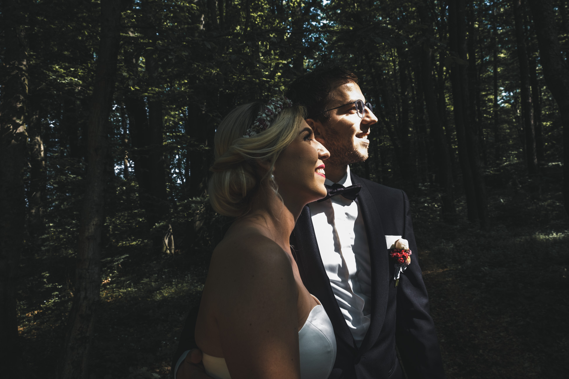 Schattenspiele Hochzeit