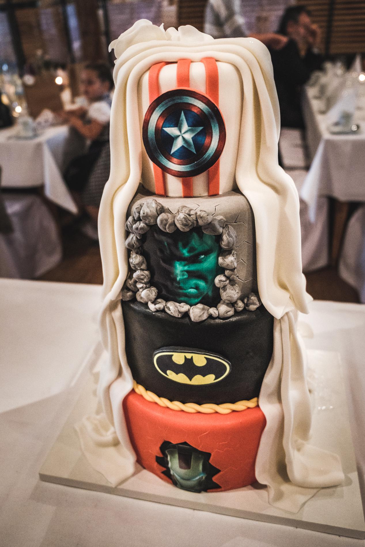 Hochzeitstorte-Marvel