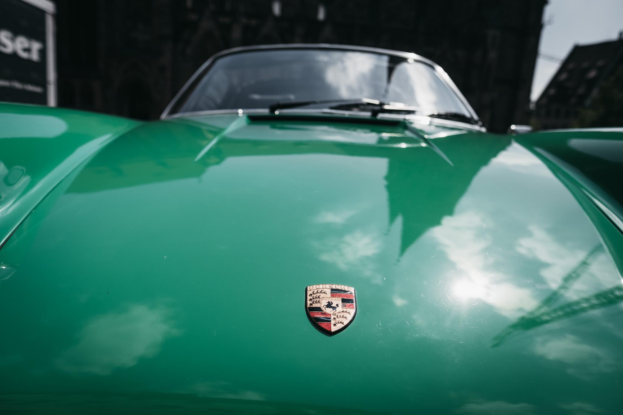 Porsche-Hochzeitsfotograf