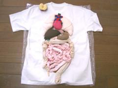 からだTシャツ(消化器)