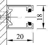 Typ 3 - Leibungsmontage