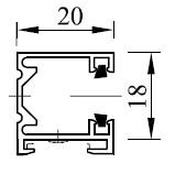 Typ 1 - Abstandsmontage