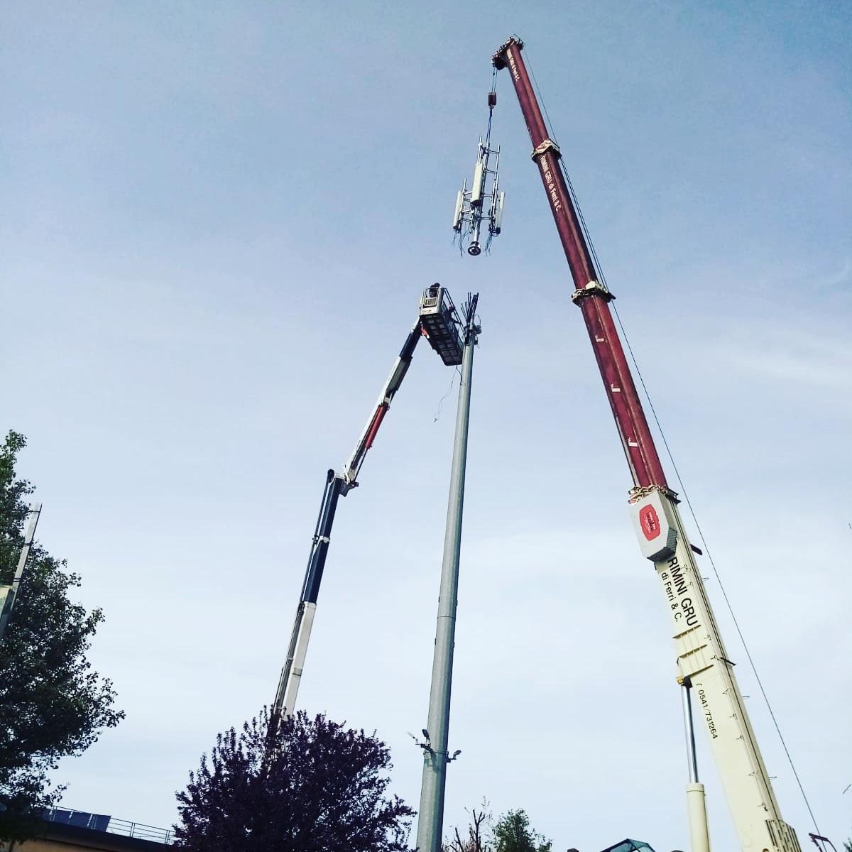 Rimini Gru noleggio autogru e piattaforma telefonia emilia romagna e marche