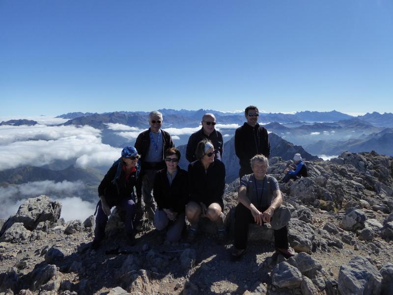 Les  7 participants au sommet
