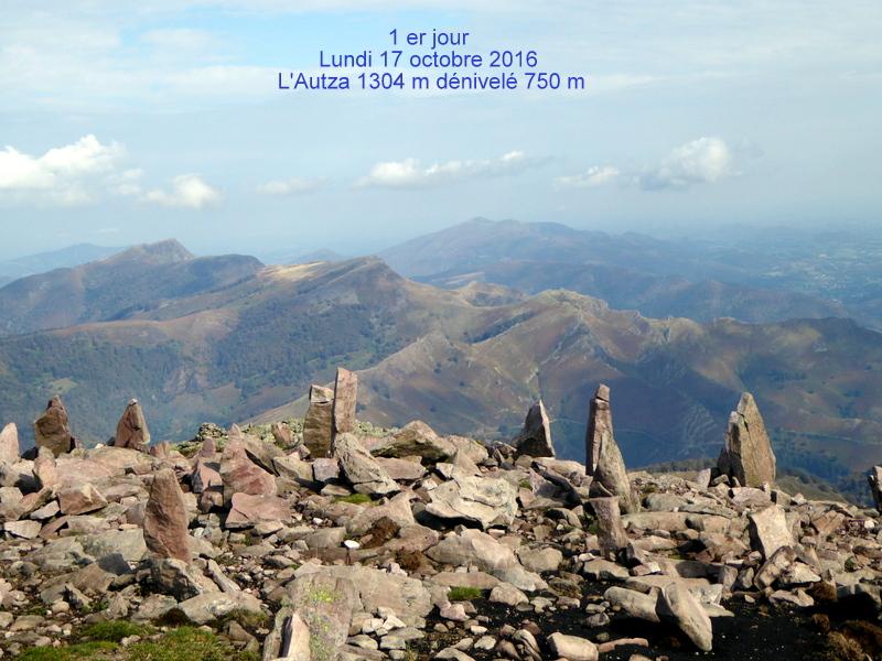 """17 octobre l'Autza, """"le seigneur de l'Arête frontière"""" (Louis Audoubert)"""