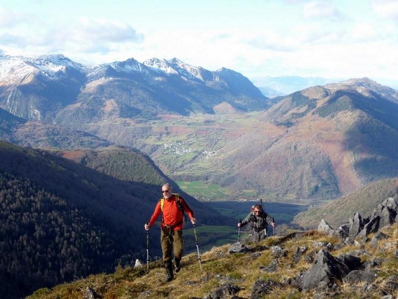 Col de Marie Blanque et zone du Rocher d'Aran