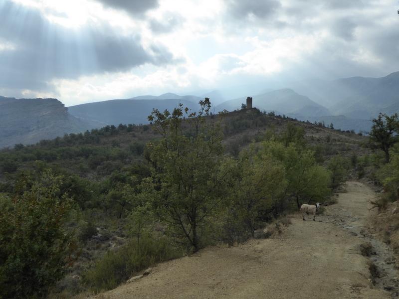 La tour de Chirivita construite au XI ème siècle...