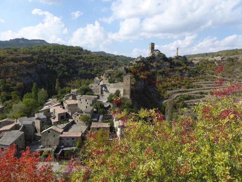 Le village médiéval de Montañana..