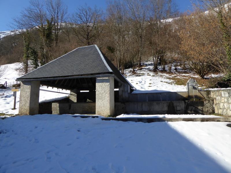 Un des nombreux lavoirs qu'on peut voir dans la région