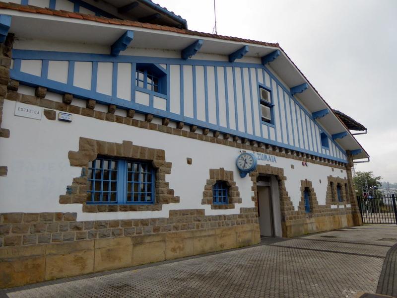La gare de Zumaia