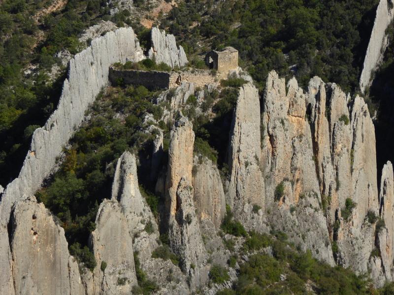 Zoom sur l'ermitage de San Vicente