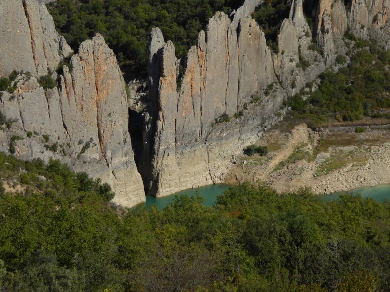 ....et où se cachait le château  et l'ermitage  San Vicente