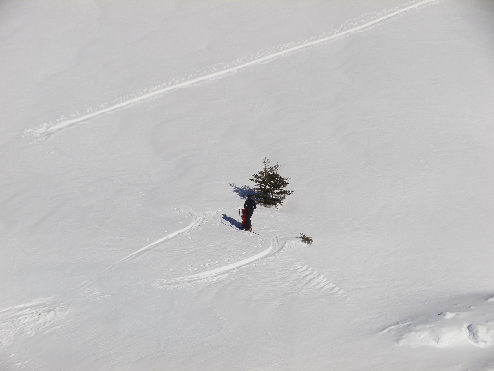 """Un skieur de rando """"enlève une couche"""""""