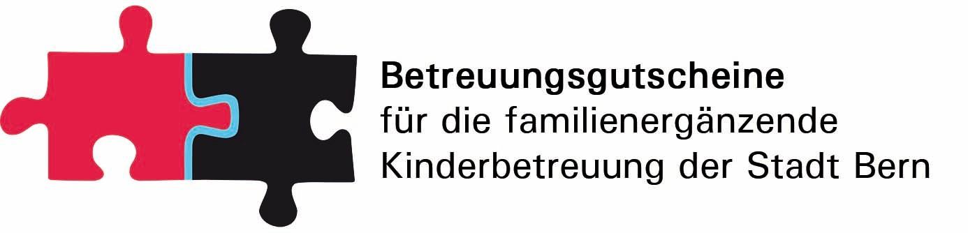 Logo zur Einführung der Betreuungsgutscheine in Bern