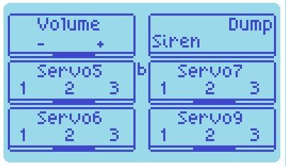 levelスイッチa、b ON時の操作ボタンの役割
